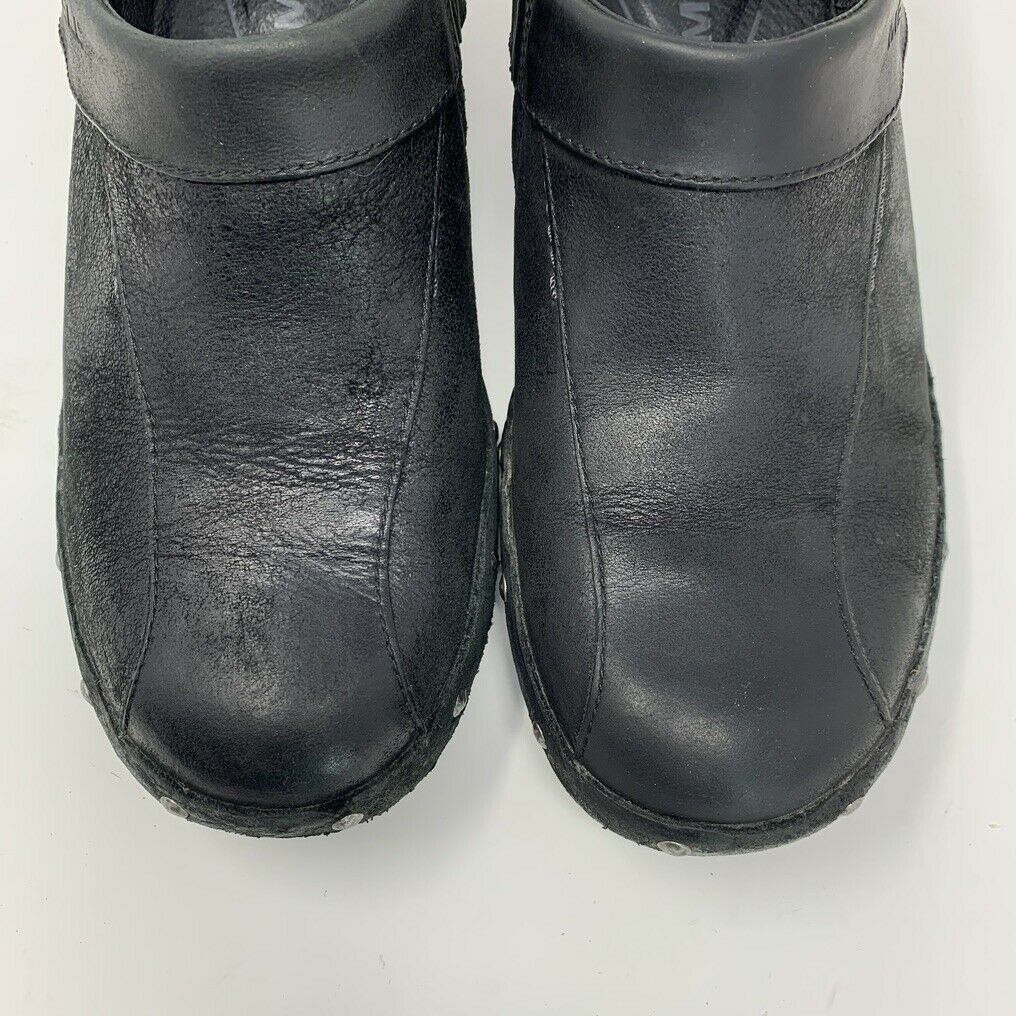 Merrell Womens Leather Comfort Shoes, Size 8, Black, Sliver Stud Accent image 3