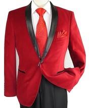Mens Adolfo Velvet Dinner Jacket Shawl Satin Stage singer 3016J Christma... - $87.50