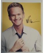 Neil Patrick Harris Hand Signed 8x10 Photo COA + Proof - $119.99
