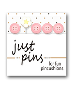 Flutterby JP180 set 5 for pincushions JABC Just Another Button Co - $13.95