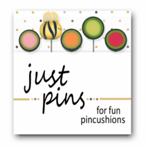 Buzzy JP181 set 5 for pincushions JABC Just Another Button Co - $13.95