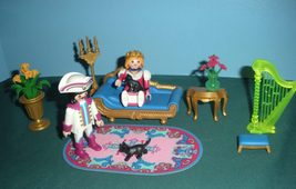 Vintage Playmobil Fairy Tale Castle #3022 Royal... - $35.99