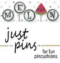 M Is For Melon JP187 set 5 for pincushions JABC Just Another Button Co - $13.95