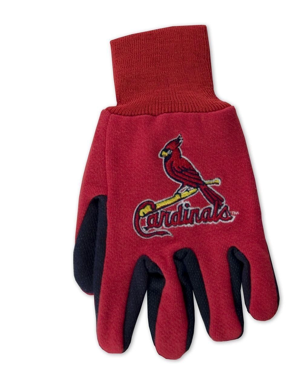 ST LOUIS CARDINALS TEAM TAILGATE GAME DAY PARTY UTILITY WORK GLOVES MLB BASEBALL