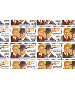 C114 Complete Sheet of 50 Lawrence Sperry/Father Elmer 39¢ Airmail - Stu... - $28.95