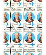 C98 Complete Sheet of 50 Philip Mazzei 40 Cent Airmail Stamps - Stuart Katz - $33.95