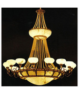 Magnificent Huge Alabaster Spanish Chandelier,60'' x 99''tall. - $8,400.00