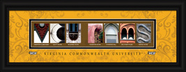 Virginia Commonwealth University Officially Licensed Framed Letter Art  - $39.95