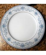 Lot of 6 Noritake Bone China Blue Hill Pattern 2482 Luncheon Salad Plates  - $18.99