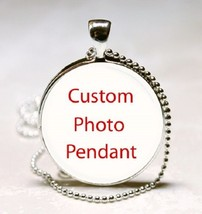 Custom Photo Glass Dome Necklace Pendant (PD0136) - $10.99