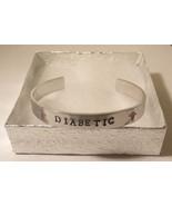 Hand Stamped Diabetic Medical Bracelet (HSBR0003) - $14.00