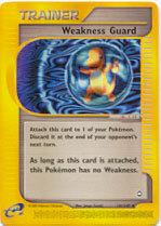 Weakness Guard 141/147 Uncommon Trainer Aquapolis Pokemon Card