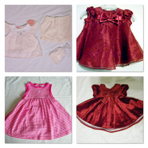 Girls Infants 0 3 Months Dresses Only 2 Left Nwt & Nwot Baby Gifts - $11.99+
