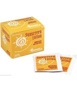 1/8 oz. Sunscreen-Sunblock lotion 30 SPF 6 Boxes (150 Packets) - MS84250 - $56.97