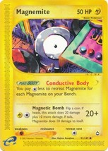 Magnemite 91/147 Common Aquapolis Pokemon Card - $0.59