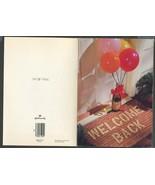 2 Vintage Greeting Cards Welcome Home trademark Hallmark 6 x 8 - $3.00