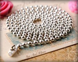 Handmade Elizabeth Name Monogram Glass Dome Necklace Pendant (NPD1420) image 4