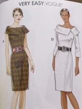 Vogue Sewing Pattern 8630 Ladies Misses Dress Size 14-22 New - $19.01
