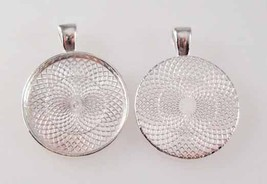 Letter W - Purple leopard Print Monogram Glass Tile Jewelry Necklace Pendant image 2