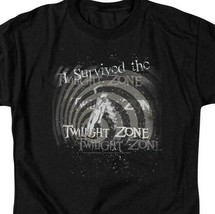 I Survived the Twilight Zone t-shirt retro Sci-Fi TV series graphic tee CBS168  image 2