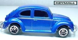 KEY CHAIN RING BLUE VW VOLKSWAGEN BEETLE VOLKSW... - $19.94
