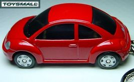 KEY CHAIN RING 98~2009 RED VW NEW BUG BEETLE VOLKSWAGEN - $34.94