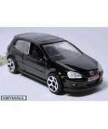 Porte cle VW VOLKSWAGEN GOLF GTI V/5 Noir NEW Black Keychain - $32.95
