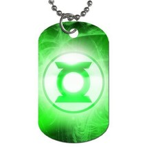 GREEN LANTERN NIGHT HERO DOG TAGS PENDANT NECKLACE  - $13.31
