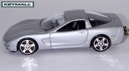 KEY CHAIN 96~97~98~99~03/~2004 CHEVY CORVETTE SILVER C5 - $19.97