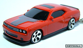 KEYCHAIN 2009~2010~2011 ORANGE~RED NEW DODGE CHALLENGER NEW - $22.98