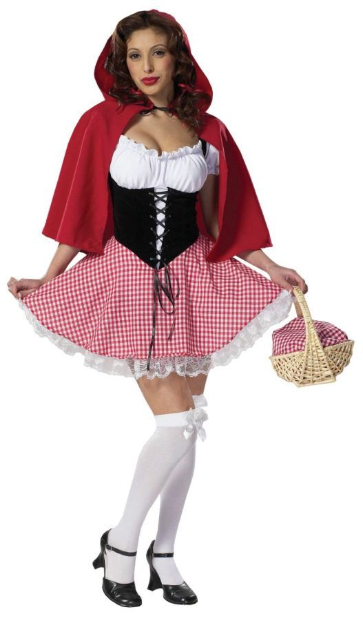 Little RED RIDING HOOD Costume ideas Halloween Costumes For Women Sexy Princess