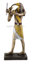 """Thoth - Egyptian God of Knowledge and Wisdom (Cold Cast Bronze) 9.25""""H L... - $55.86"""