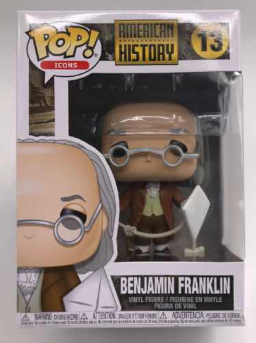 Primary image for Funko Pop Icons: American History - Benjamin Franklin Vinyl Figure #41709 NEW
