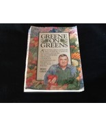 VTG Cookbook Greene on Greens by Bert Greene Paperback 1984 - $12.00