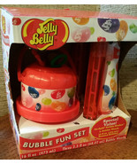 Jelly Belly Beans Scented Bubble Blowing Fun Set-Little Kids Bucket New-... - $28.71