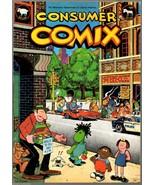 Consumer Comix, Krupp 1975 Underground Comix, Kitchen Sink - $9.25