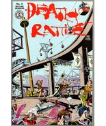 Death Rattle v 2 # 9, Kitchen Sink 1987, Undreground Comix, Rand Holmes - $9.25