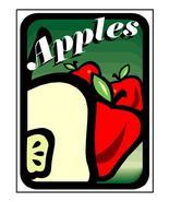 Apples 8603-Download-ClipArt-ArtClip-Digital Tags-Digital - $4.00