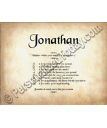 Jonathan Hidden Within Your Name Is A Special S... - $8.95
