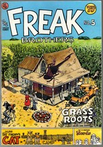 Freak Brothers 5, Rip Off Press 1977, Gilbert Shelton, Classic Undregrou... - $12.25
