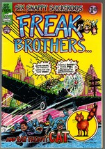 Freak Brothers 6, Rip Off Press 1980, Gilbert Shelton, Classic Undregrou... - $12.25