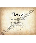 Joseph Hidden Within Your Name Is A Special Sto... - $8.95