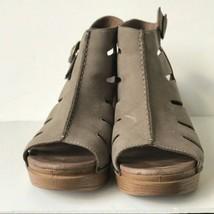 Dansko Demetra Leather Open Toe Slingback Sandals Brown  EU 39 US 8.5-9M - $46.44