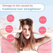 SWAN STAR Professional Infrared Steam Hair Straightener, Flat Iron Hair Straight image 2