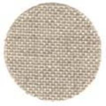 FABRIC CUT 28ct natural cashel linen 12x14 for Americana Sampling Little... - $8.00