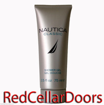 NEW Nautica Classic Shower Gel for Men Masculine Scent Full Size 1.7 oz ... - $7.68
