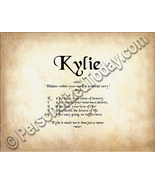 Kylie Hidden Within Your Name Is A Special Stor... - $8.95