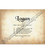 Logan Hidden Within Your Name Is A Special Stor... - $8.95