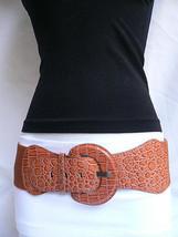 New Women Belt Fashion High Waist Hip Mocha Light Brown Stylish  Xs S M - $13.71