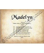 Madelyn Hidden Within Your Name Is A Special St... - $8.95